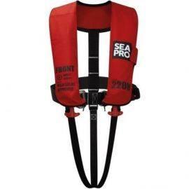 Seapro 220n solas vest red med harness