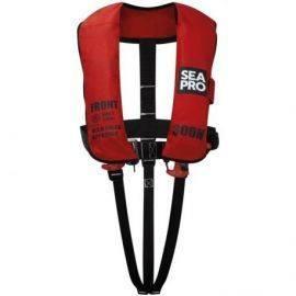 Seapro 300n solas vest red med harness