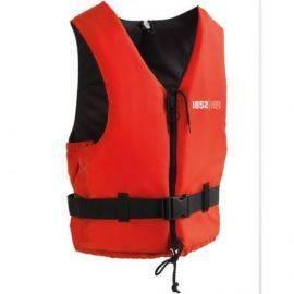 1852 svømmevest iso 50n active rød-sort 50-70kg