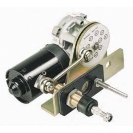 Viskermotor heavy duty 24v m-20mm aksel