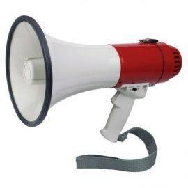 Megafon med sirene