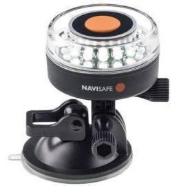Lanterne navilight 360 med 16 led hvid inkl gopro beslag
