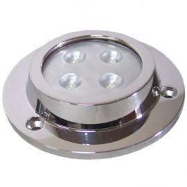 Undervandslys påbygning 8-30V 4 LED hvid