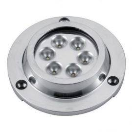 Undervandslys påbygning 14.2W 8-30V 6 LED hvid