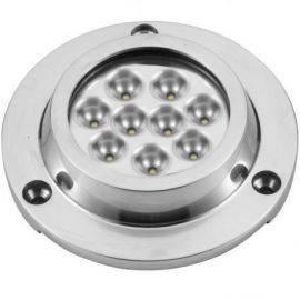 Undervandslys påbygning 21.6W 10-30V 9 LED hvid