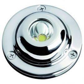 Undervandslys hvid 12-24V 1 LED 5W
