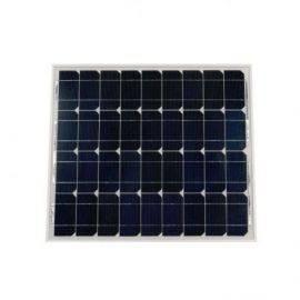 Solpanel polykrystal - alu 50wp  540 x 670 x 25mm