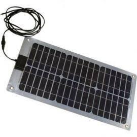 Solcellepanel fleksibelt 60x30cm 20w