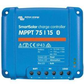 Victron mppt smart 75-10 regulator 145wp 12v - 290wp 24v