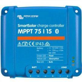 Victron mppt smart 75-15 regulator 220wp 12v - 440wp 24v