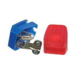 Batteripolsko med plastdæksel 1 sæt