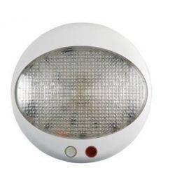 Loftslampe 12-24v led hvid-rød