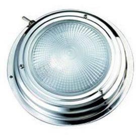L.lampe rustfri 12v. ø 140 mm