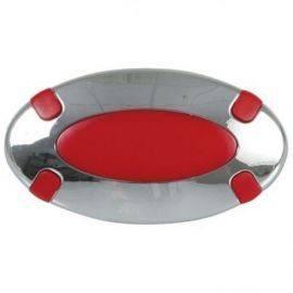 Lampe oval 12v 5w - rød lys