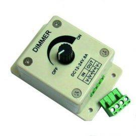 Nauticled pwm led dimmer 10- 30v input max 8 a output