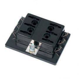 Sikringsboks til 6 bladsikringer max 25 amp
