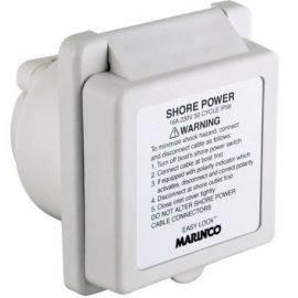 Marinco landstrømsindtag fiber-polyester 16a