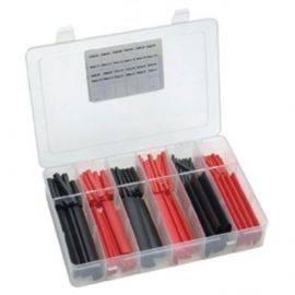 Krympeflex sortiment i plastbokse 150 stk fra50-100cm ø32-19mm