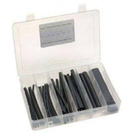 Krympeflex med lim 37 stk sortiment i plastbokse 25-100cm ø32-19mm