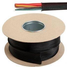 Kabelbeskyttelse sort fleksible monofilament ø18-34mm 10m