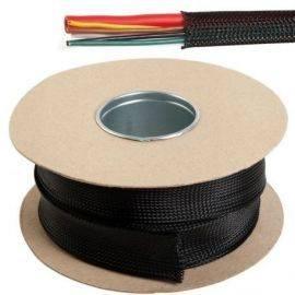 Kabelbeskyttelse sort fleksible monofilament ø28-47mm 10m