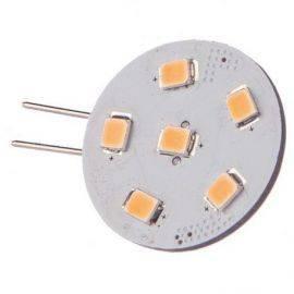 Nauticled g4 pro spot side pin ø24mm 10-35vdc 1-10 watt rød