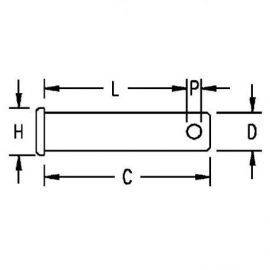 Splitbolt 127 1-2x32 11-4