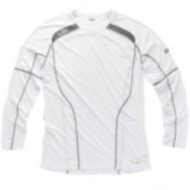Gill rs07 race langærmet t-shirt hvid str s