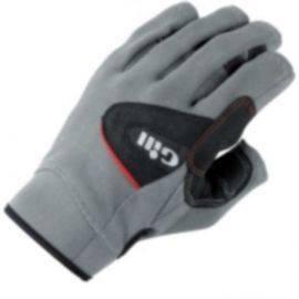 7042 sejler handsker u/fingre gill grå str jr