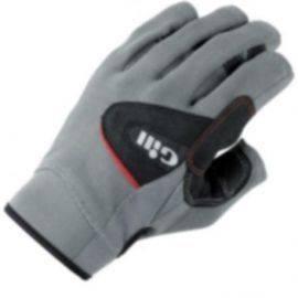 7042 sejler handsker u/fingre gill grå str L