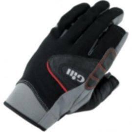 7252 championship handsker m/fingre gill sort str m