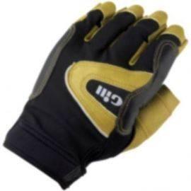 7441 pro sejler handsker u/fingre gill sort str xs