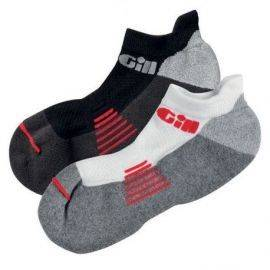 758 gill trainer socks par 1 sort & 1 hvid str s - 44-47