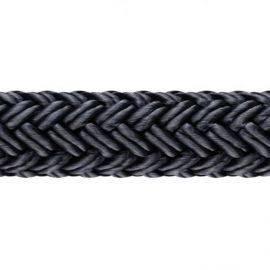 1852 fenderline db. flettet sort Ø10mm 2m 2stk