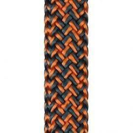 Liros racer vision stålblå-orange 12 mm