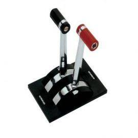 Ultraflex Kontrolbox dobbelt til indbygning