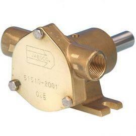 Jabsco impeller pumpe brz ped 020 mech (51520-2001)