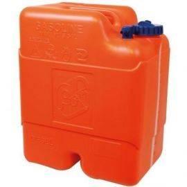 Benzintank plast 22 ltr. 40x33x24cm