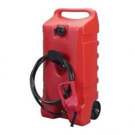 Benzindunk 53 liter med hjul og pistol