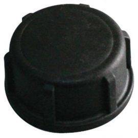 Plast dæksel sort 3-4 gevind