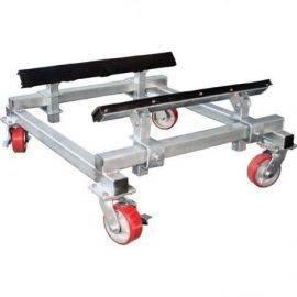 Båd vogn - galvaniseret 1500 kg