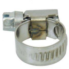 Spændebånd rustfri 110 -130 mm