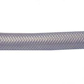 Klar pvc krydsvæv slange 6mm, rulle 100m