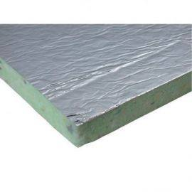 Isoflock Polytecplade med folie 3x50x100