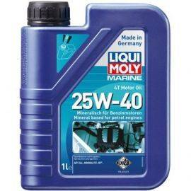 Liqui moly marine 4t motor olie 25w-40 1 liter
