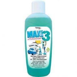 Maxi 3 allround vaske-& rengøringsmiddel 1 ltr