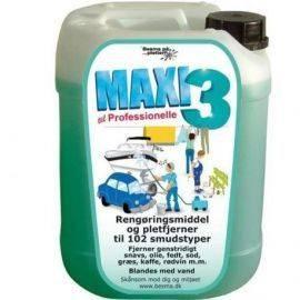 Maxi 3 allround vaske-& rengøringsmiddel 20ltr