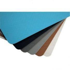 Skridbelægning lys blå smooth 1200x900x2mm