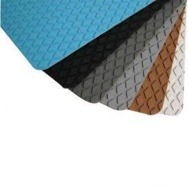 Skridbelægning step lys blå diamant 2 stk. 275x135x3mm