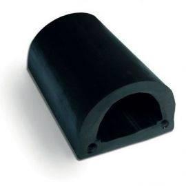 D-fender pvc 60mm grå
